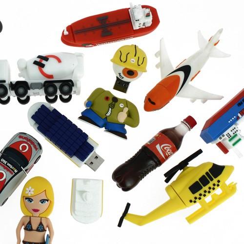Cadeau publicitaire - Clé USB publicitaire 3D