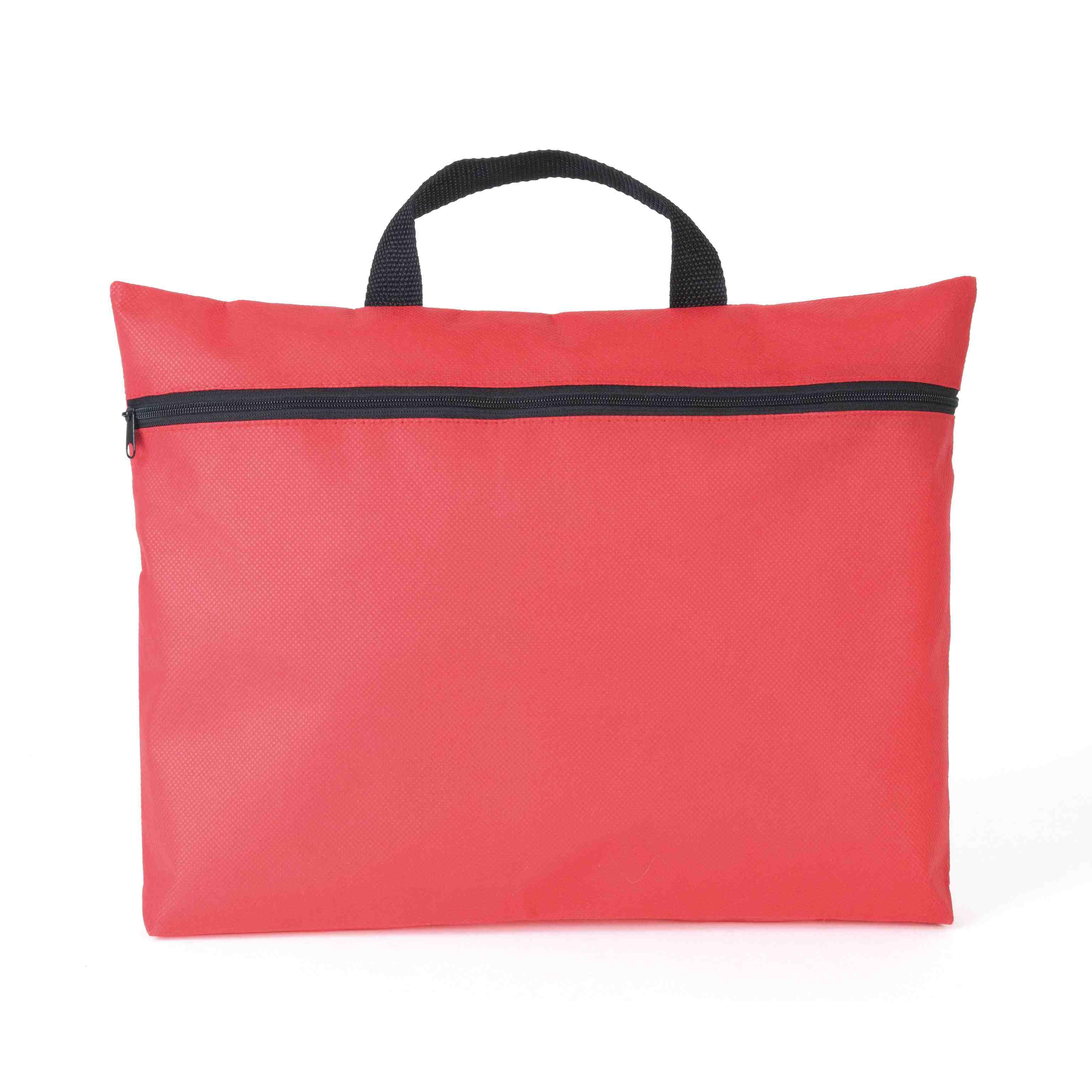 Cadeau publicitaire - Porte-documents publicitaire Zippe - rouge