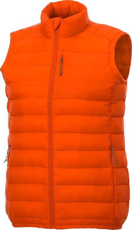 Bodywarmer personnalisable Pallas en Orange pour femme
