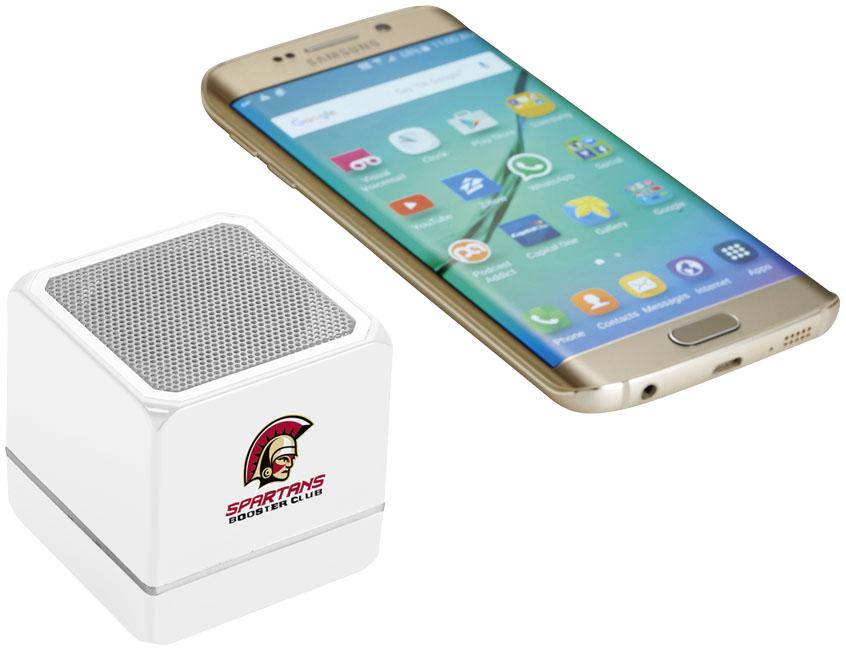 Enceinte Bluetooth publicitaire Kubus - Objet publicitaire high-tech