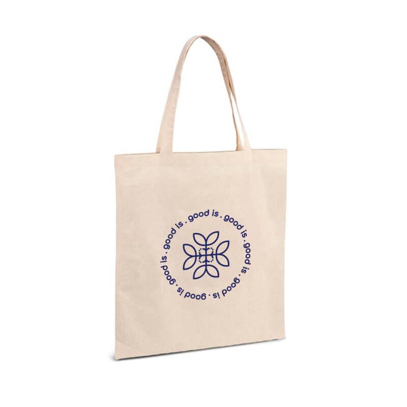 Tote bag personnalisé en coton bio écru Thane