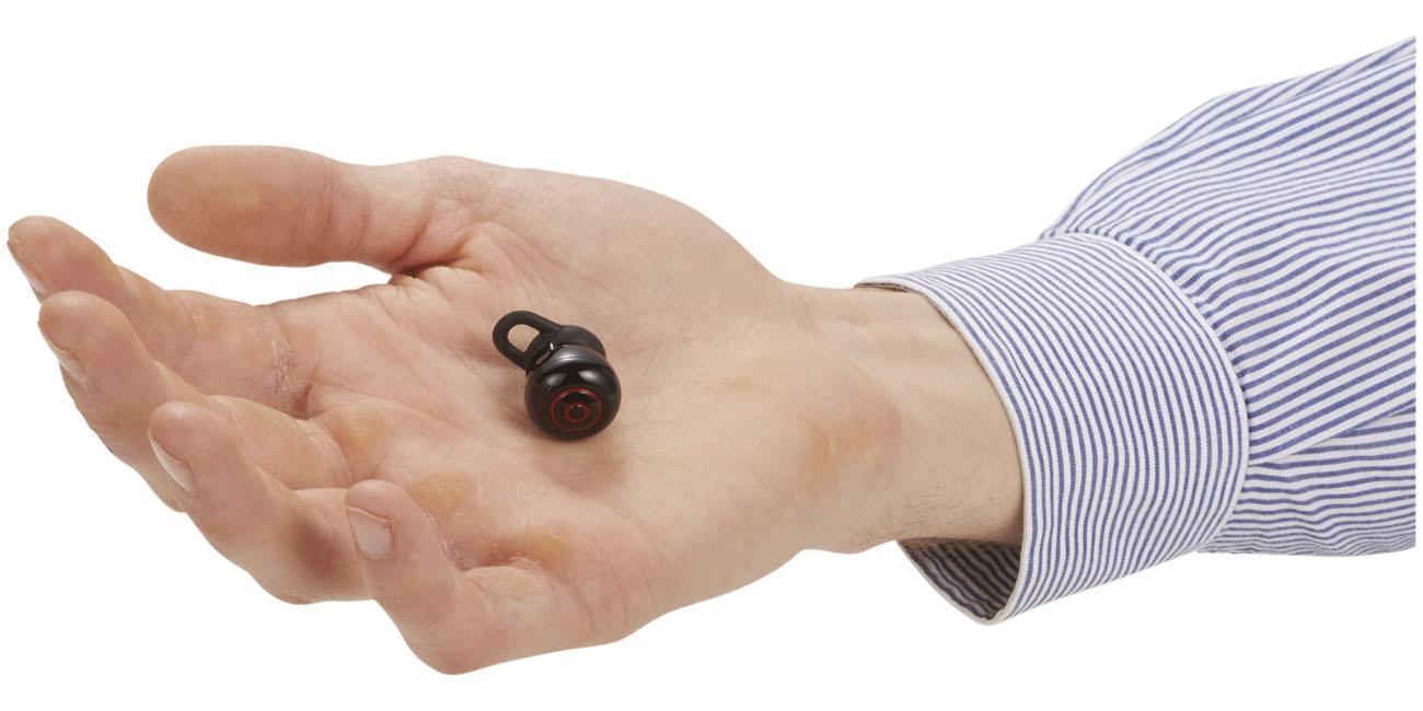 Écouteurs sans fil avec pochette Dynamic - cadeau personnalisable