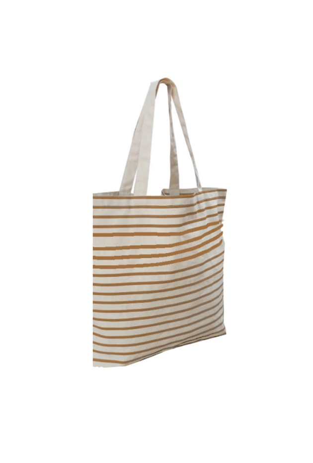 Totebag personnalisable Striped - Totebag publicitaire à rayures