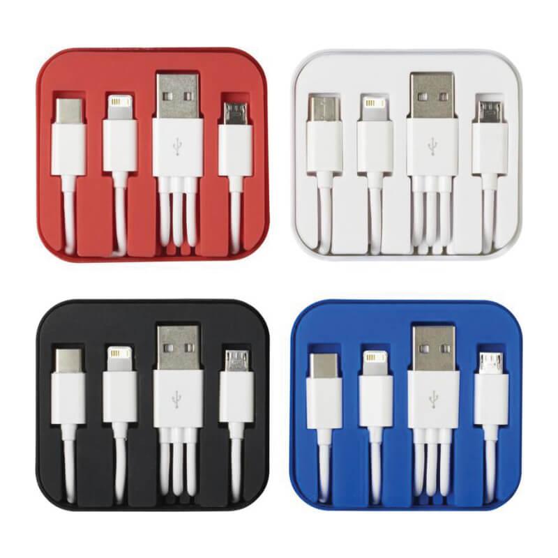 Câble de chargement 3 en 1 ConnectC