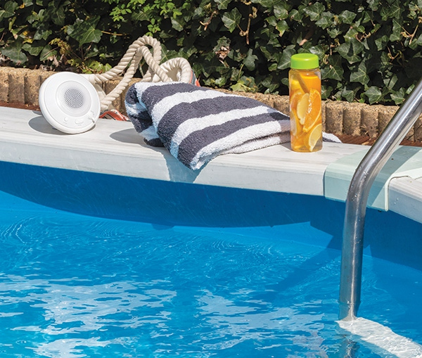 Enceinte publicitaire flottante Splash - Cadeau d'entreprise pour l'été