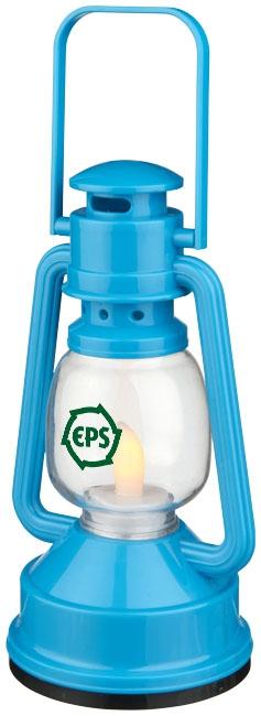 Lampe publicitaire - Lanterne personnalisée LED Esmerald - bleu