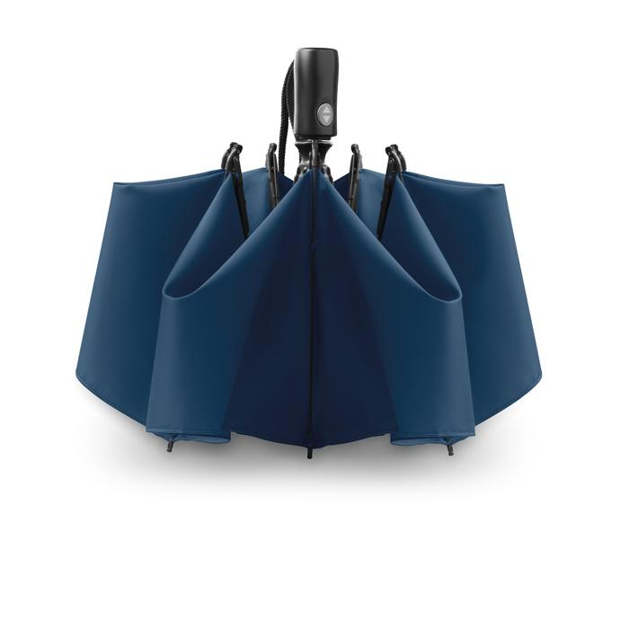 Parapluie publicitaire réversible pliable Dundee - Parapluie publicitaire pliable