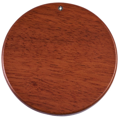 Chargeur à induction publicitaire en bois Bora - cadeau entreprise