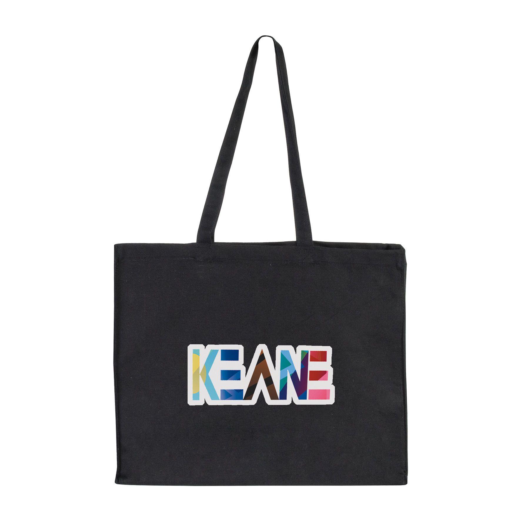 Sac shopping personnalisable coton canevas Large - Cadeau publicitaire