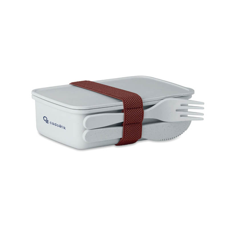 Lunch box personnalisée en fibre de bambou Astoriabox