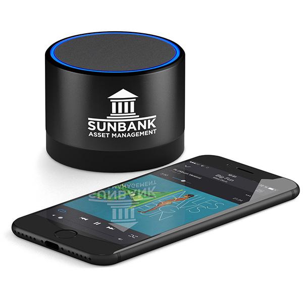 Enceinte Bluetooth® personnalisée Moonlight - haut-parleur personnalisé