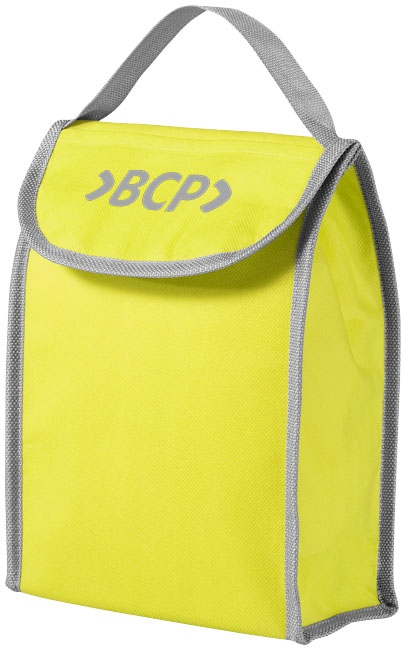 Cadeau d'entreprise - Lunch bag publicitaire isotherme non tissé Lapua jaune