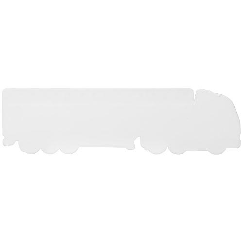 Objet publicitaire - Règle en plastique personnalisable Loki 15 cm Camion