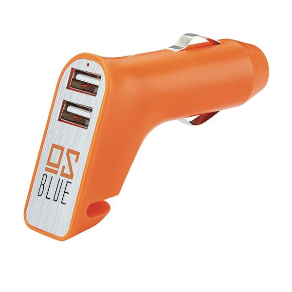 Chargeur promotionnel pour voiture Gun - objet publicitaire sécurité