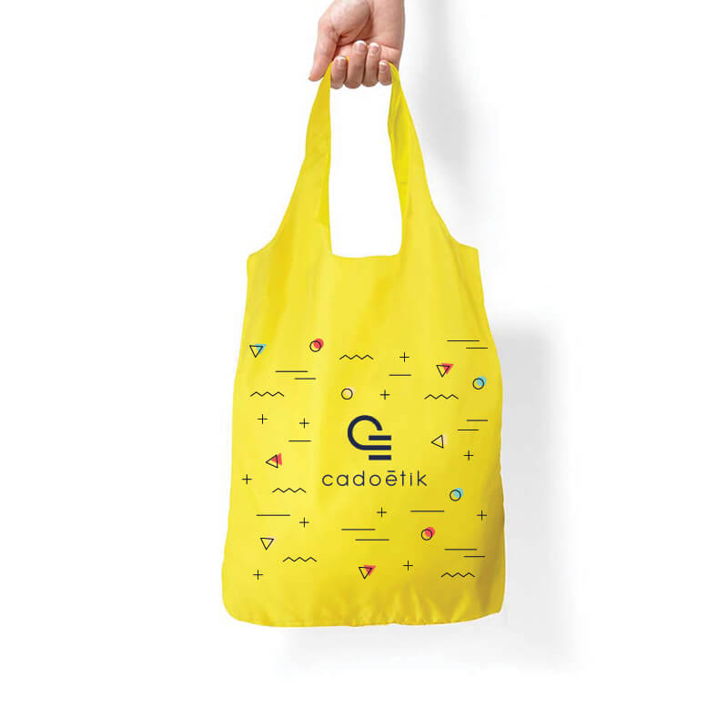 Sac shopping publicitaire INZE POCKET