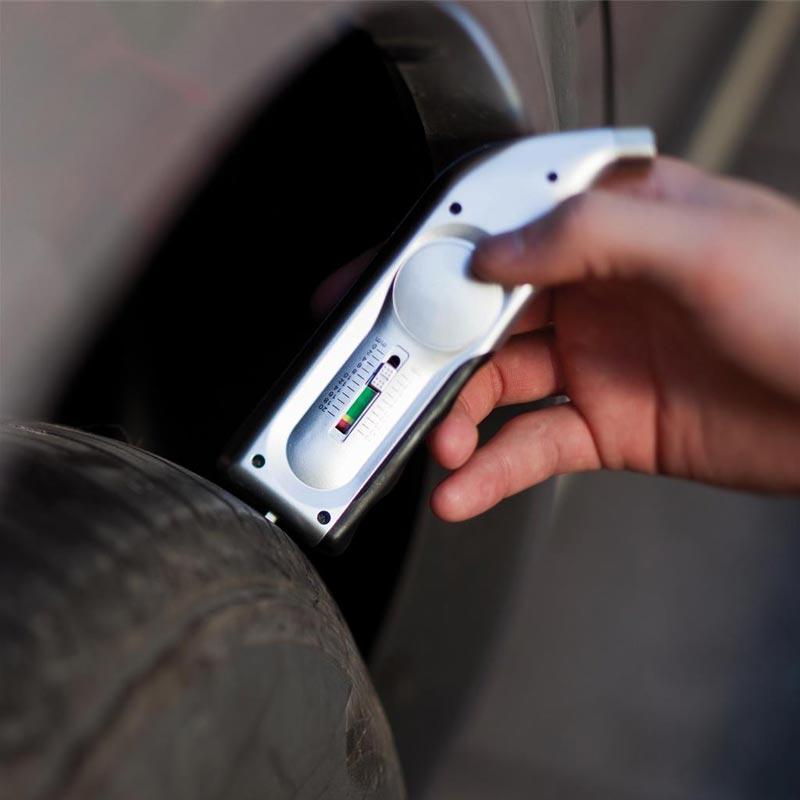 Manomètre personnalisable Rider - Détail pression d'un pneu