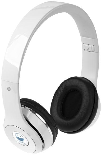 Casque publicitaire Bluetooth® pliable Cadence - bleu