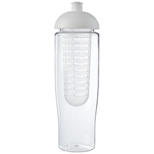 Bouteille de sport personnalisée et infuseur H2O Tempo® 700 ml avec couvercle dôme