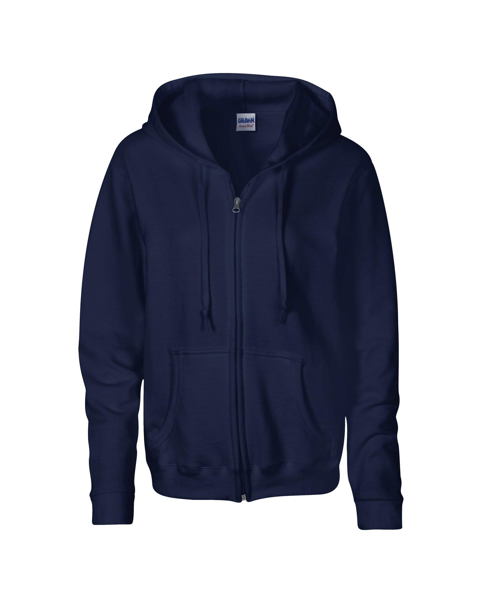 Sweatshirt personnalisable Heavy blendy noir - sweatshirt promotionnel