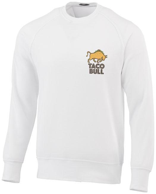 Sweater publicitaire Kruger blanc