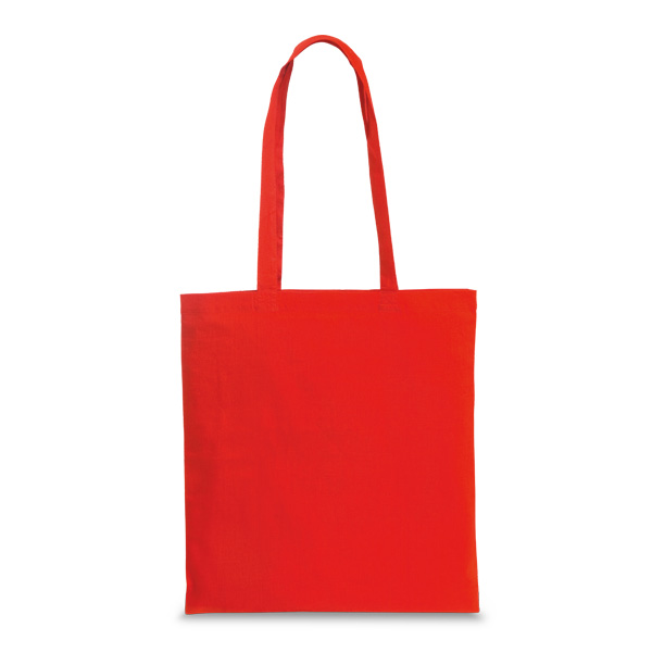 Sac shopping promotionnel Painting rouge - sac shopping personnalisable