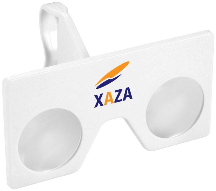 Lunettes de Réalité Virtuelle publicitaires et kit lentilles 3D LOL - accessoire pour smartphone publicitaire