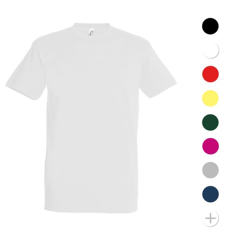 tee-shirt publicitaire imperial - modèle homme et femme