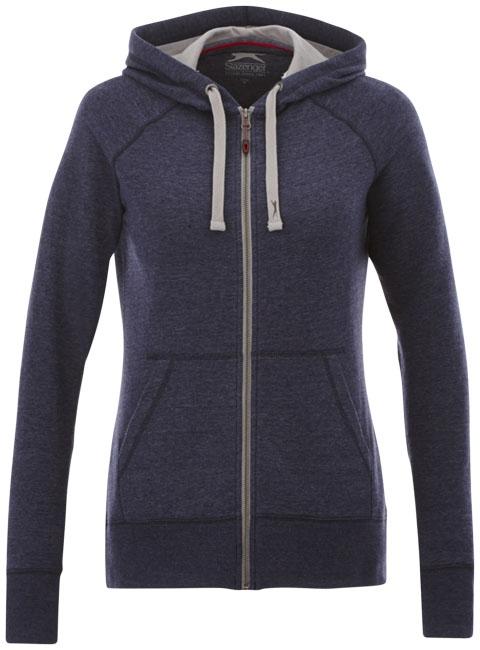 Veste à capuche publicitaire femme Groundie - Sweat-shirt publicitaire