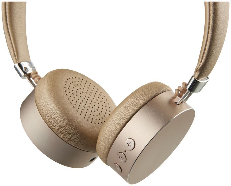Cadeau d'affaires - Casque Bluetooth® publicitaire métal Millenial