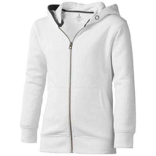 Veste à capuche enfants blanche