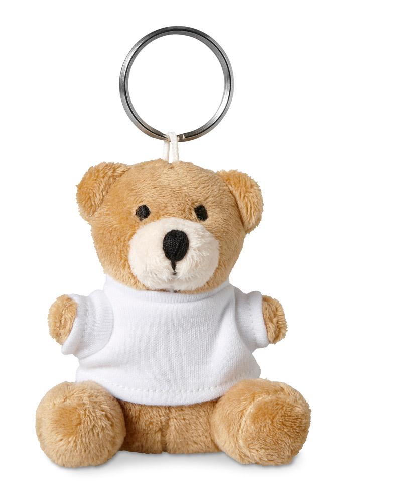 Porte-clés publicitaire pour enfant avec ourson - Cadeau publicitaire pour enfants
