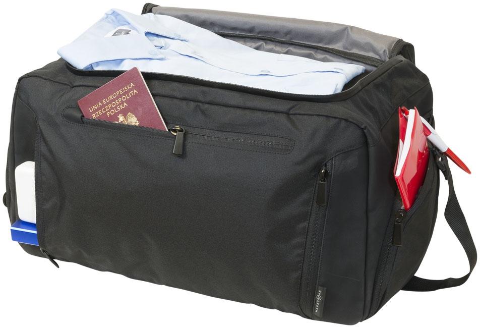 Sac de voyage publicitaire Deluxe poche tablette - cadeau d'entreprise voyage