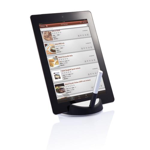 Support pour tablette personnalisable avec stylet - cadeau promotionnel