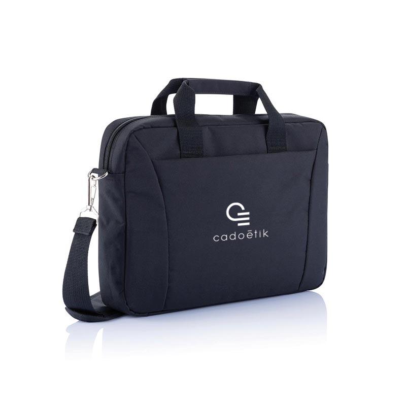 Sacoche publicitaire écologique pour ordinateur portable 15 pouces - Cadeau publicitaire