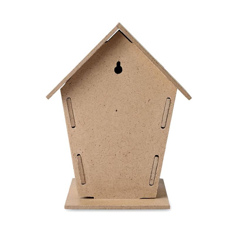 Nichoir à oiseaux Woohouse à personnaliser avec logo