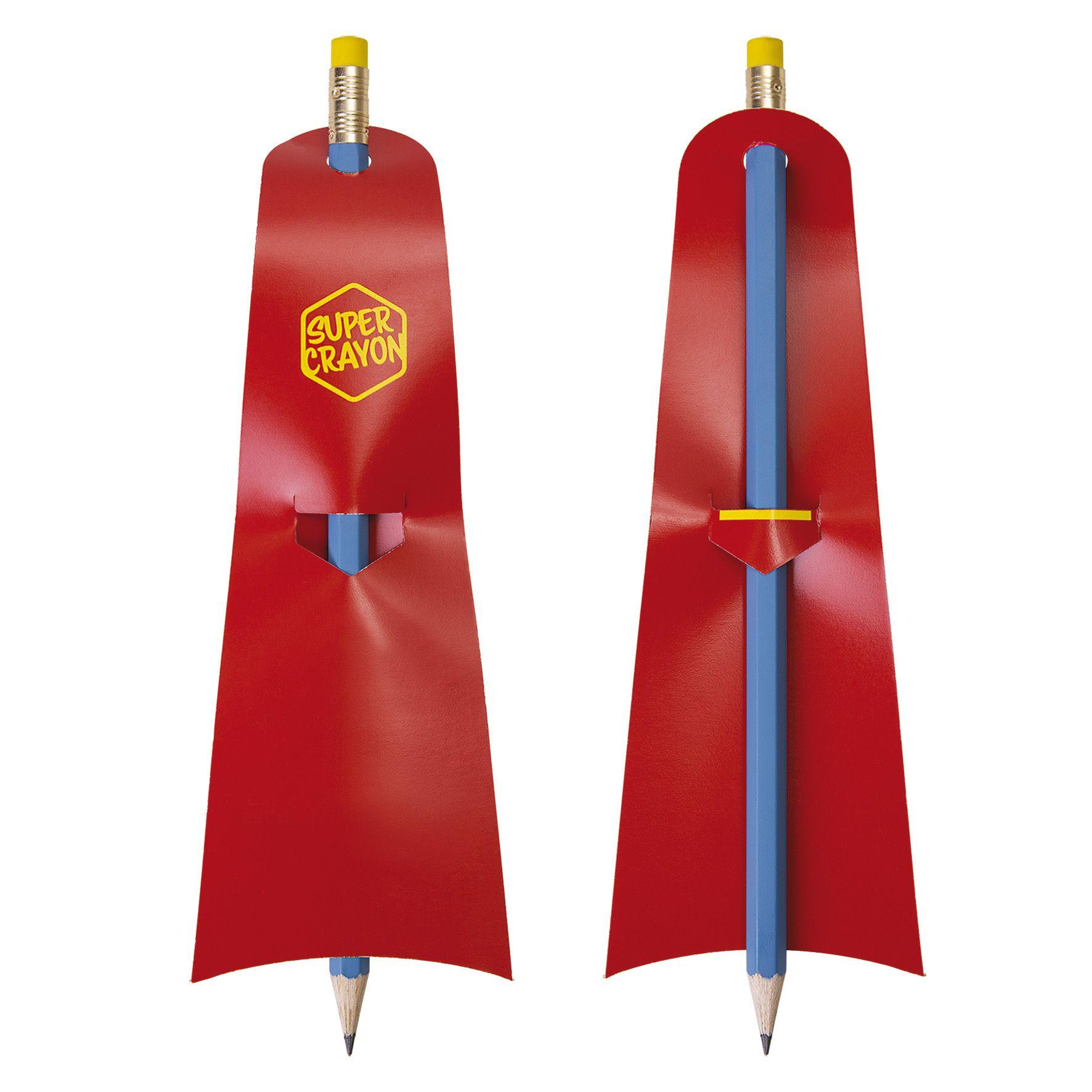 Crayon à papier personnalisé écologique Supman - goodies écologique