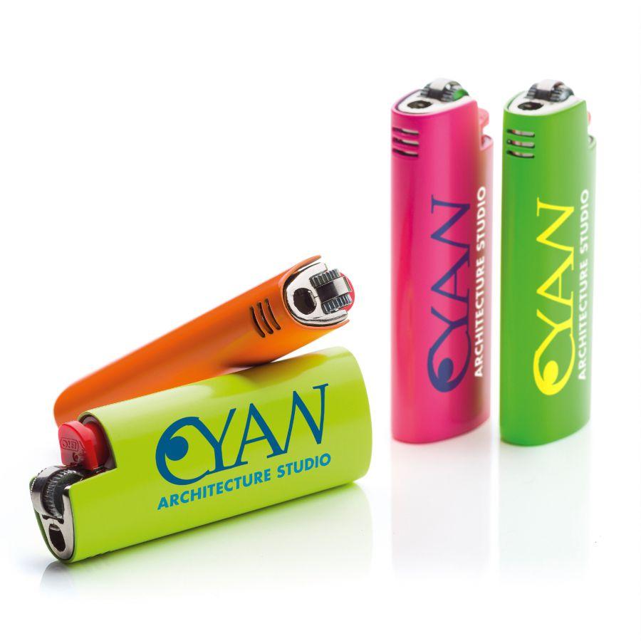 Briquet publicitaire Lighter  Neon BIC® - objet publicitaire