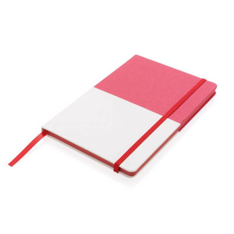 Carnet de notes A5 Deluxe bi-matière - Cadeau d'entreprise