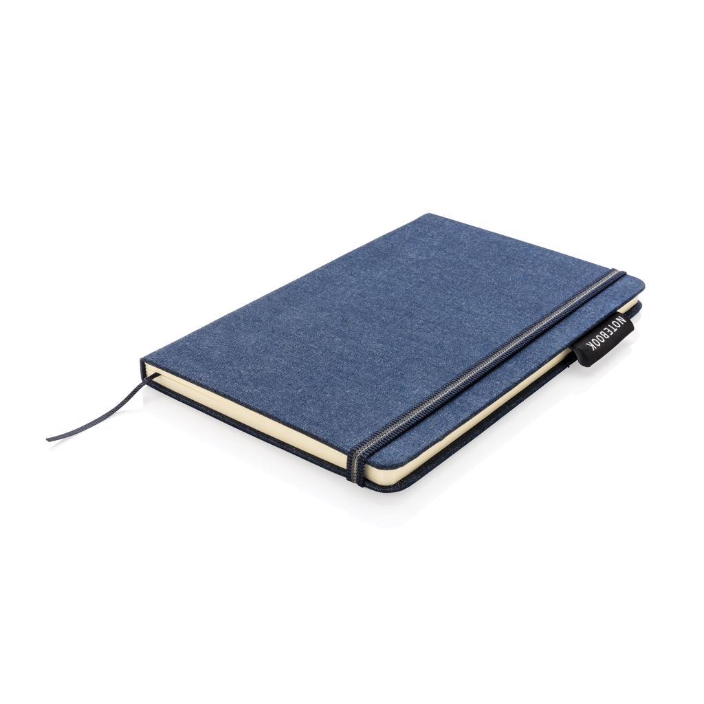 Carnet de notes A5 personnalisé en Denim Blue - Carnets publicitaires