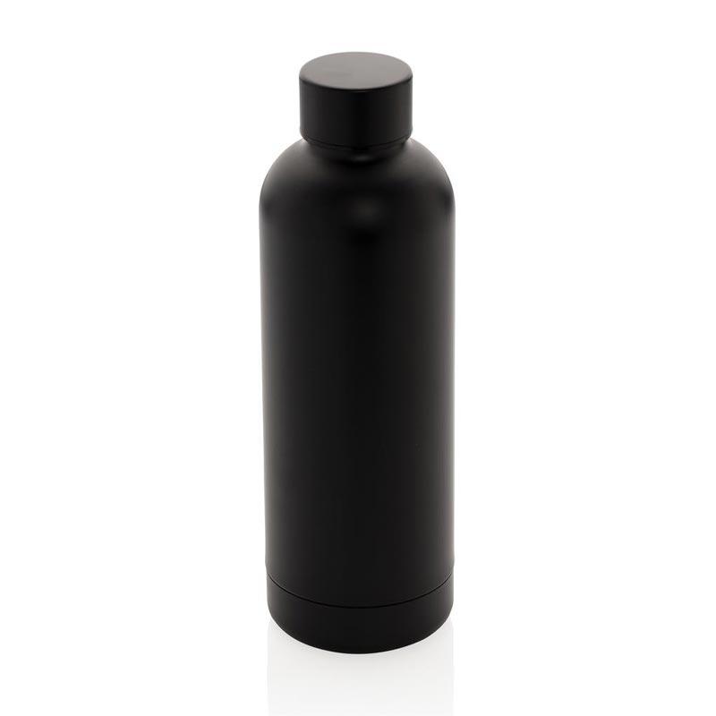 Bouteille isotherme en acier inoxydable Impact - coloris noir