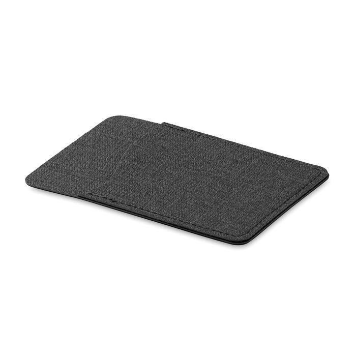 goodies - porte-cartes personnalisable tissu Shieldtone