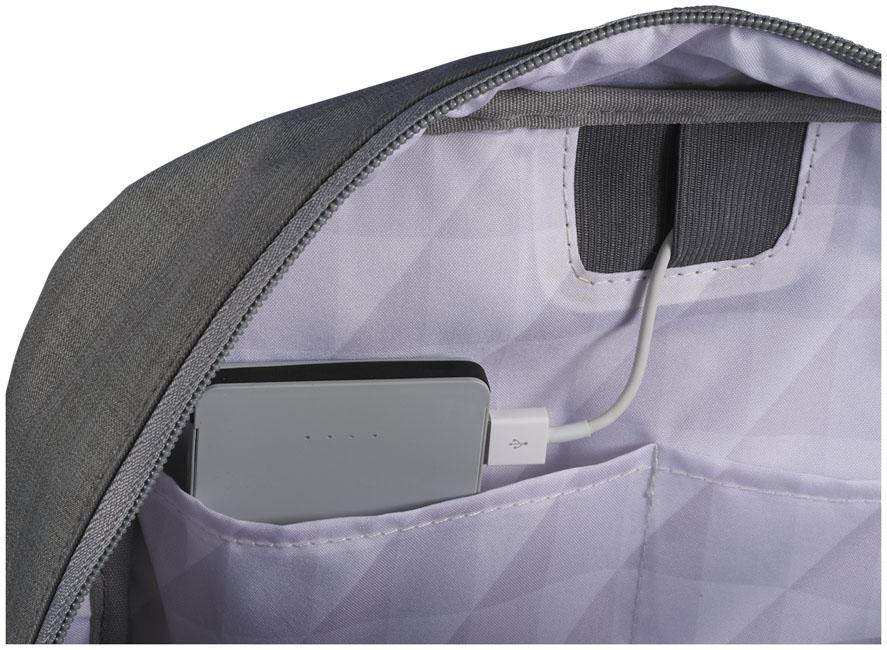 """Sac à dos pour ordinateur publicitaire 15"""" Zip - sac à dos pour ordinateur personnalisé"""