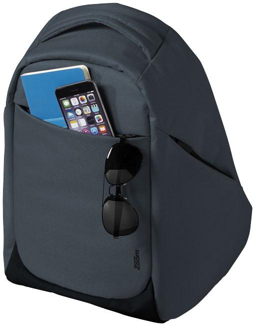 """Sac à dos pour ordinateur publicitaire 15"""" TSA Covert Security Zoom - sac personnalisé"""
