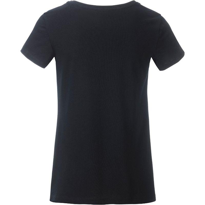 T-shirt personnalisé bio Enfant Kim - Tee-shirt blanc publicitaire biologique
