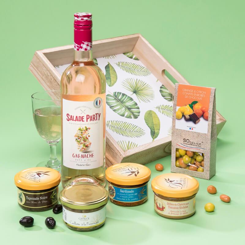 Panier garni 6 spécialités provençales