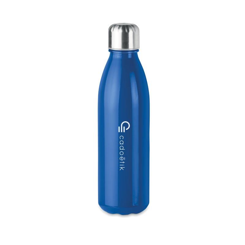 Bouteille en verre publicitaire Aspen bleu
