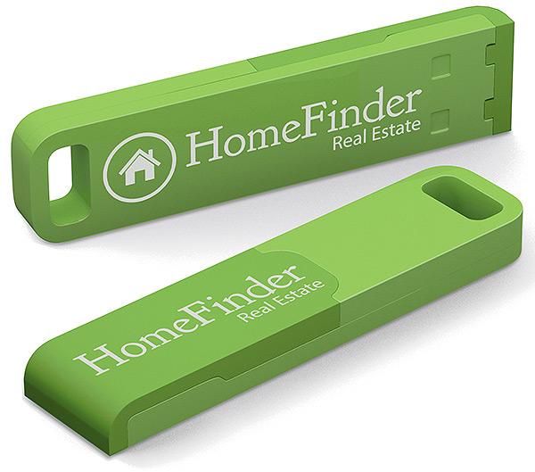 Clé USB publicitaire Iron Outdoor - clé USB personnalisable