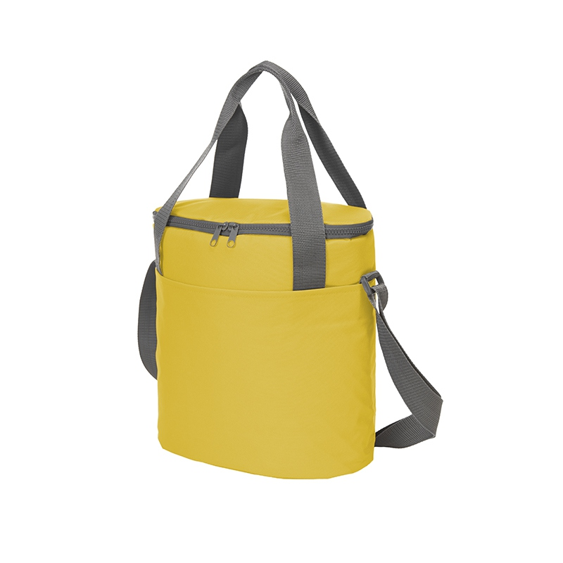 Sac isotherme publicitaire Solution jaune