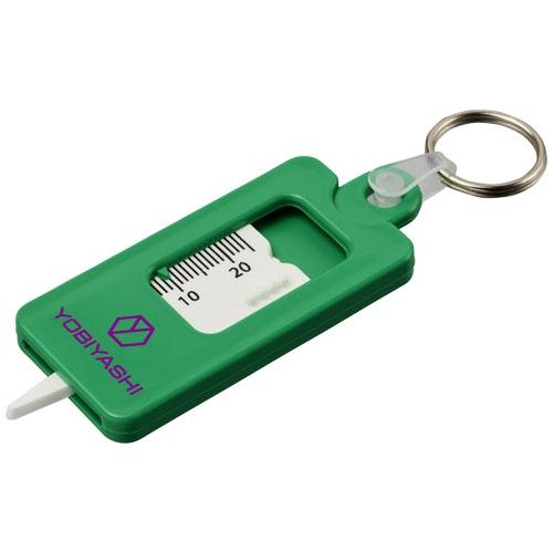 Porte-clés publicitaire - Porte-clés jauge de profondeur de pneu Kym