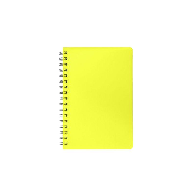Cahier publicitaire à spirale Slot - jaune